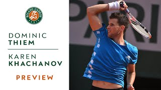 Dominic Thiem vs Karen Khachanov - Quarterfinals Preview | Roland-Garros 2019