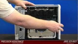 HP LaserJet P3005 Maintenance Kit Instructions