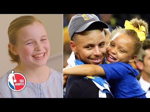 The girl who wrote to Steph Curry about girls Under Armour shoes not on the website | NBA on ESPN