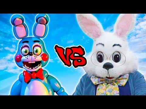 Toy Bonnie Vs Easter Bunny - Epic Battle - Left 4 Dead 2 Gameplay (Left 4 Dead 2 FNAF Custom  Mod)
