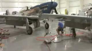 P-51 Mustangs Restored in Oklahoma
