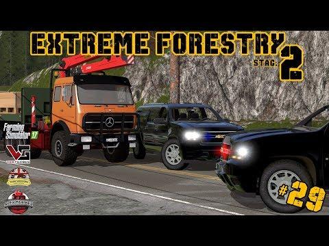 EXTREME FORESTRY STAGIONE 2 | #29 ep. - LA MACCHINA SOSPETTA - FARMING SIMULATOR 17