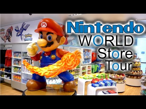 Ultimate Nintendo World Store Tour 2015