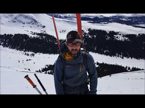 Remote triggered wet slab avalanche in the Vail and Summit County zone.