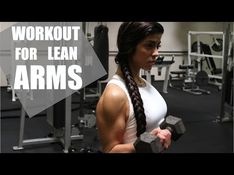 THE BEST WORKOUT FOR LEAN ARMS