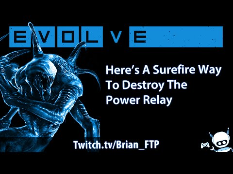 Evolve Heres One Surefire Way To Destroy The Power Relay YouTube - Power Relay Evolve