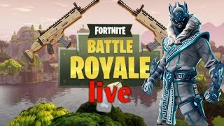 Live fortnite Battle Royal ps4 en (we watch the Combat Pass)