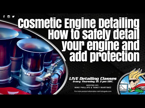 Cosmetic Engine Detailing - How To Safely Detail Your Engine And Add Protection