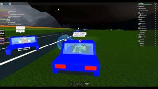 ROBLOX Storm Chasing - S3 EP25 - EF5 On The Borderline + Crazy Police Car!