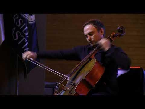 Shostakovich Sonata Cello Piano op40 P Gomziakov E Karpukhova 29 11 2018 Valdivia,Chile