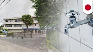 何者かが、蛇口を全開にして逃走か。千葉県八千代市立村上中学校で、校...