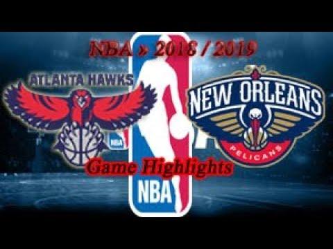 Atlanta Hawks vs New Orleans Pelicans - 01.10. Game Highlights - NBA PRE-SEASON 2018-19