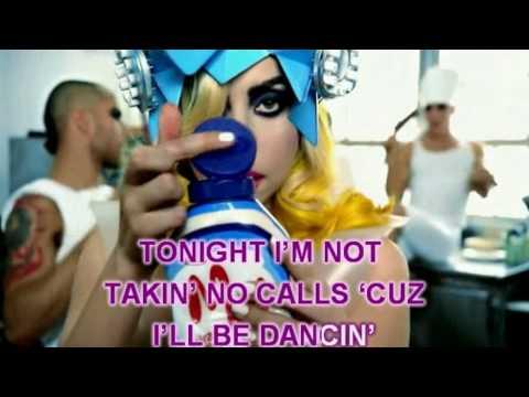 LADY GAGA ft. BEYONCE - TELEPHONE (KARAOKE) Instrumental