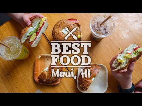 Best Food in Maui Hawaii The Journey
