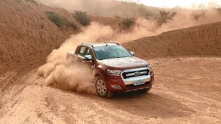Ford Ranger 4x4 Limited - Teste com o Emilio