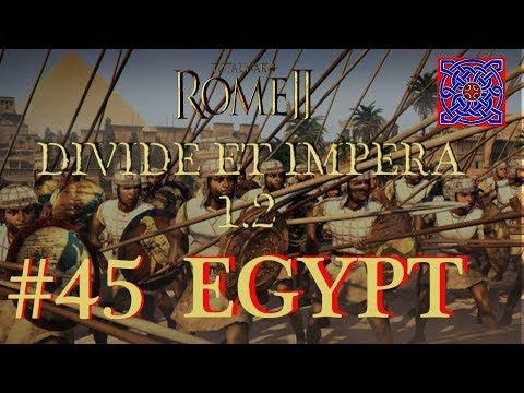 Enforcing Peace :: Total War Rome II - Divide Et Impera  1.2  - Egypt Gameplay - #45