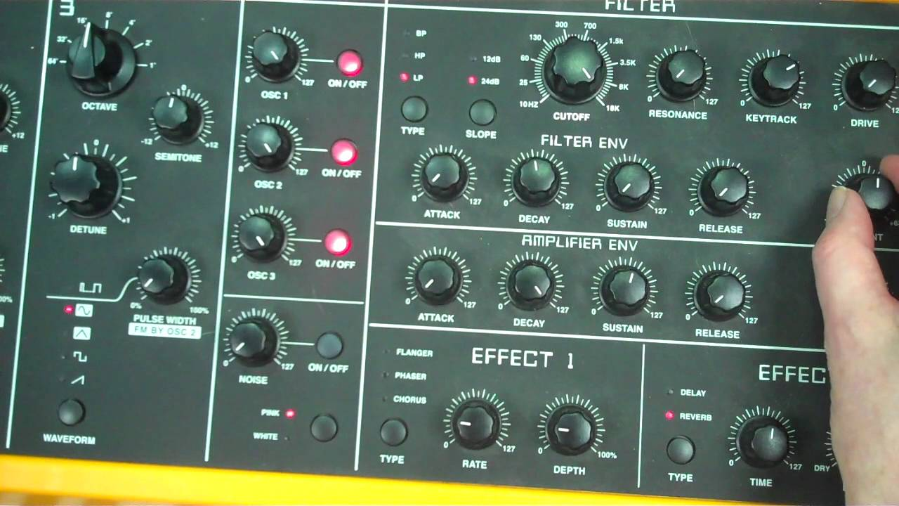 Download George Hall Synthesiser Tutorial 9 Classic Organ Sounds