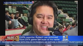 ESPN Broadcaster Robert Lee Removed From UVA Game Because Of His Name