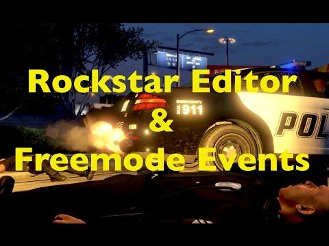 GTA 5 Xbox One Rockstar Editor Tutorial and Freemode Events Walkthrough
