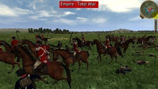 Cavalry is indispensible - Empire Total War, Britain vs US - Part 2 of 3