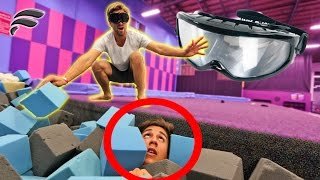 HIDE AND SEEK W/ DRUNK GOGGLES AT SUPER TRAMPOLINE PARK