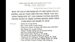 (D.N.L 197+ 100) ĐƠN KIỆN TT NGUYỄN THANH TUẤN-TT HOÀNG KIỀN & BÁO VNTPHCM ĐÃ ĐƯỢC GỬI ĐI