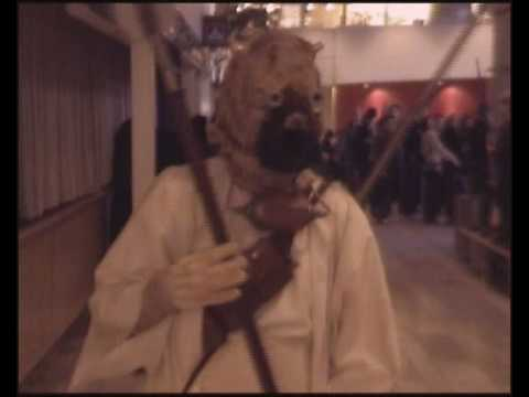 Tusken Raider at Sci-fi convention