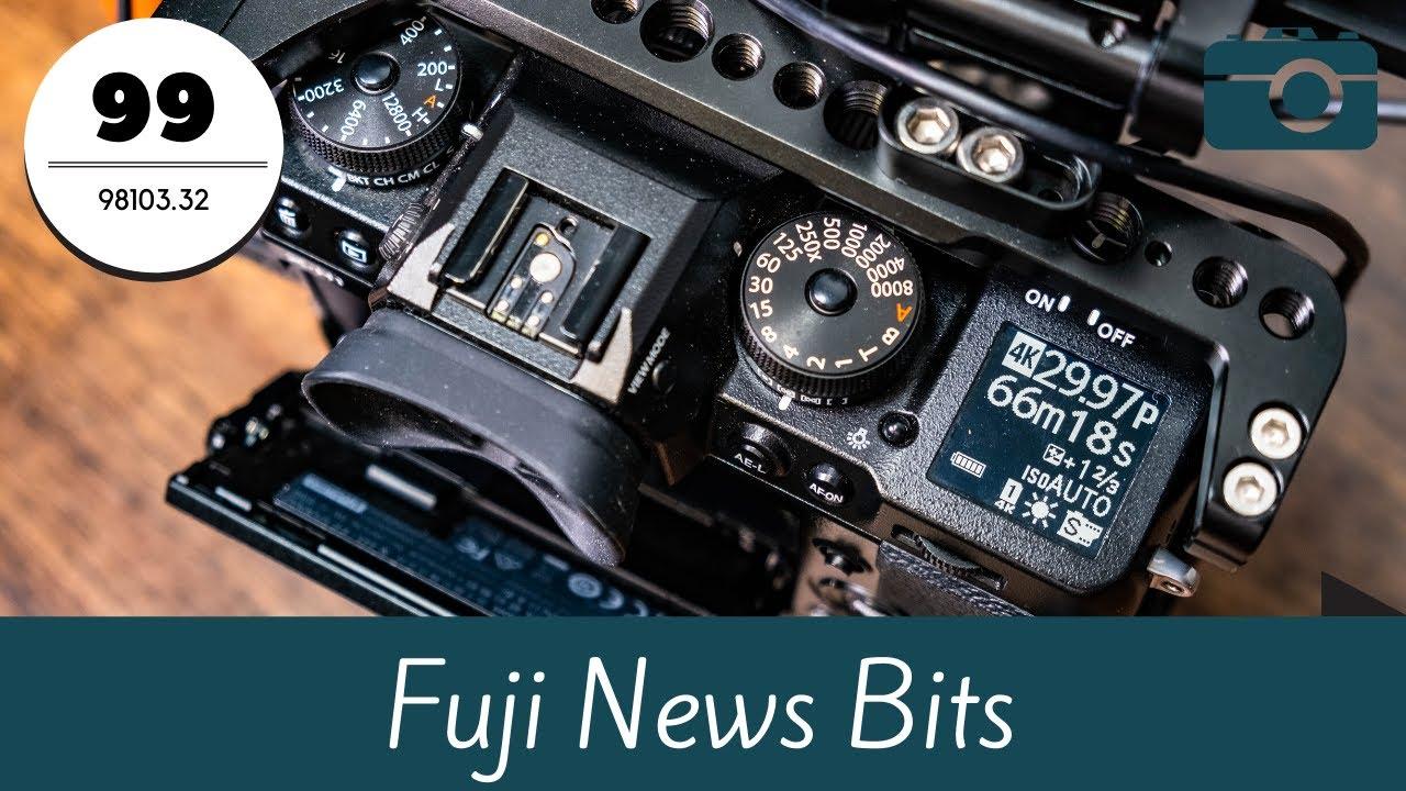 Fuji Friday - Firmware X-T4 & GFX, US Fuji Ambassador Program