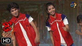Piyush and Ankitha Performance | Dhee Jodi | 17th May 2017 | ETV Telugu