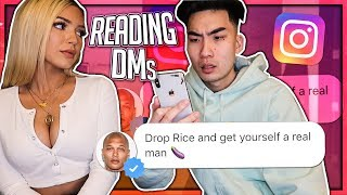 Reading My Girlfriend Instagram DMs!