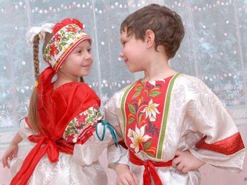 Русский народный танец. Танцуют дети. Смотрим! - YouTube
