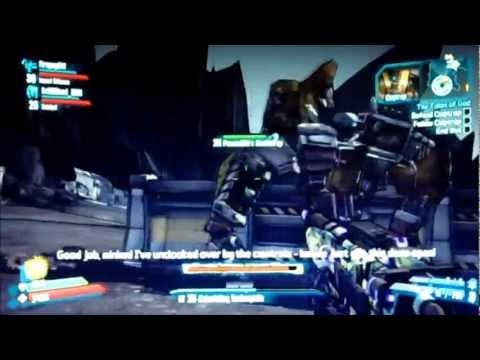 Borderlands 2 Leaked DLC Captiain Scarlett and her Pirate's Booty/Mechromancer Gameplay  