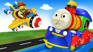 Thomas The Train | Adventure with Cartoon Thomas and Friends In Toy Factory City