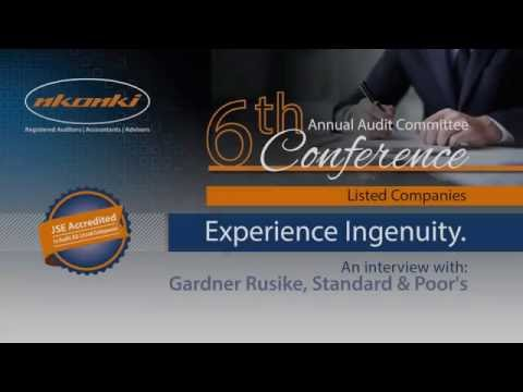 #AACC Listed Companies 2016 | Gardner Rusike, Sovereign Credit Analyst , S&P interview
