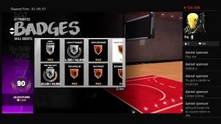 NBA 2K19 DEMIGOD | BEST BUILD IN THE GAME | 6'10 SLASHING SHOT CREATOR | 91 OVERALL GRIND