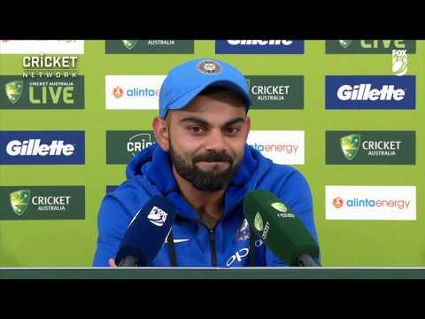Kohli praises teammates after historic win