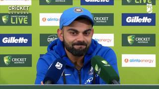 Kohli praises teammates after historic win