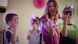 Мини Маус + Волшебное Шоу Мыльных Пузырей на день рождения Насти!