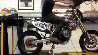 Hammer and Tongs Performance, Honda CRF450 dyno run