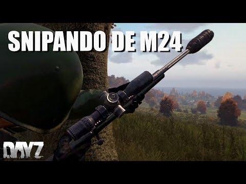 SNIPANDO DE M24 - DAYZ STANDALONE