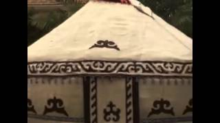 #الخيمة القرقيزيه من شعر الخيل