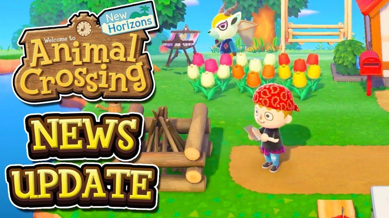 Animal Crossing New Horizons NEWS UPDATE - NEW GAMEPLAY TRAILER!