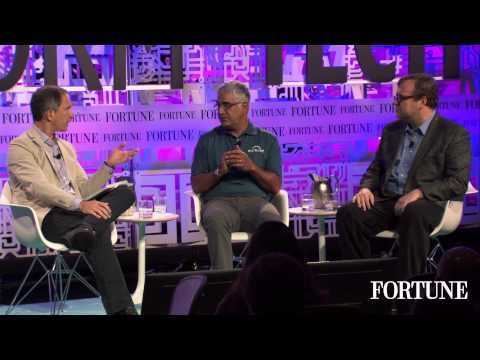 Aneel Bhusri and Reid Hoffman and Fortune's Brainstorm Tech ...