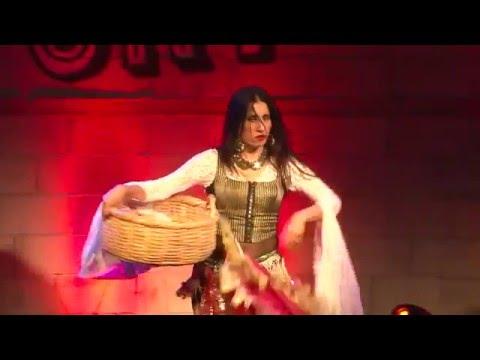 Turkish Kurdish gypsy dance - Nataly Dvir