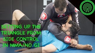 Setting up the Triangle from Side Control in MMA Tutorial
