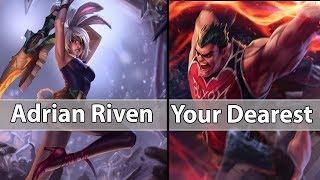 [ Adrian Riven ] Riven vs Darius[ Your Dearest ] Top - Adrian Riven Stream