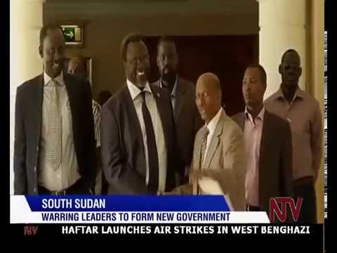 South Sudan: Warring leaders to form new government