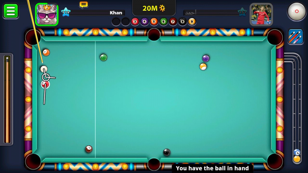20M coin in just a shot 😱😱|| under a minute|| PRO Gamer|| 8 ball pool||pool tricks||