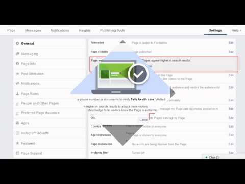 How to Verify a Business Page in Facebook 2016