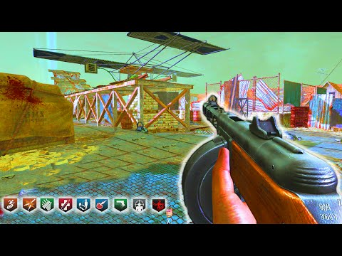 MOB OF THE DEAD REMAKE!!! (Black Ops 2 Zombies Easter Egg Gameplay)
